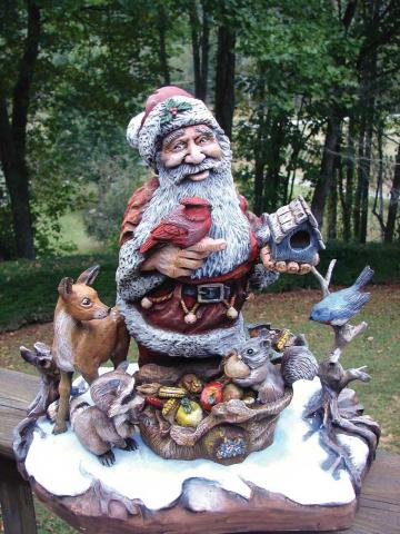 2008 Santa Carving Contest – People's Choice Award