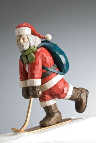 2008 Santa Carving Contest – Grand Prize Winner