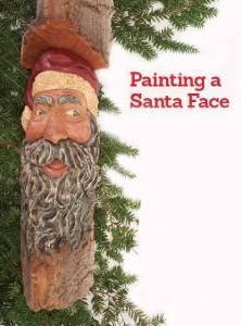 Painting Instructions: Cottonwood Bark Santa