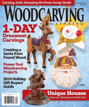 Woodcarving Illustrated Holiday 2014 Issue 69
