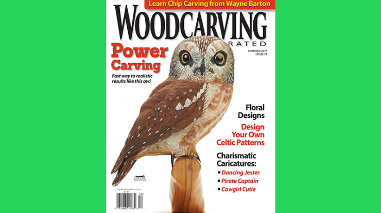 Woodcarving Illustrated Summer 2015 Issue 71