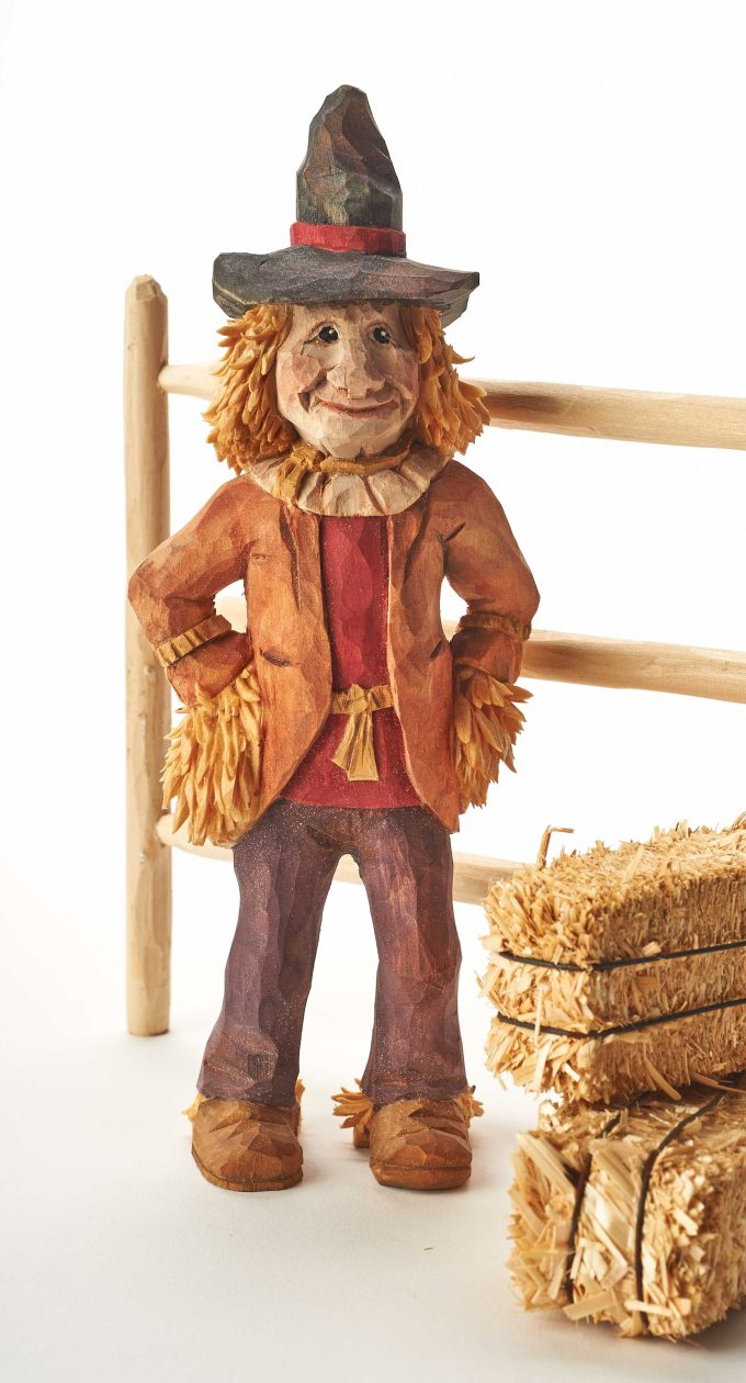 Carving a Scarecrow