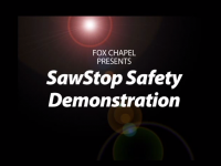 SawStop Safety Demonstration