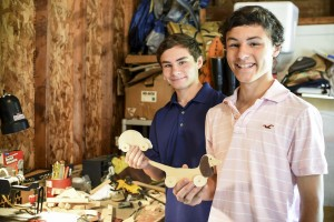 Sam and Logan Leppo '17 want to partner with students across the country to make handmade toys for homeless children.