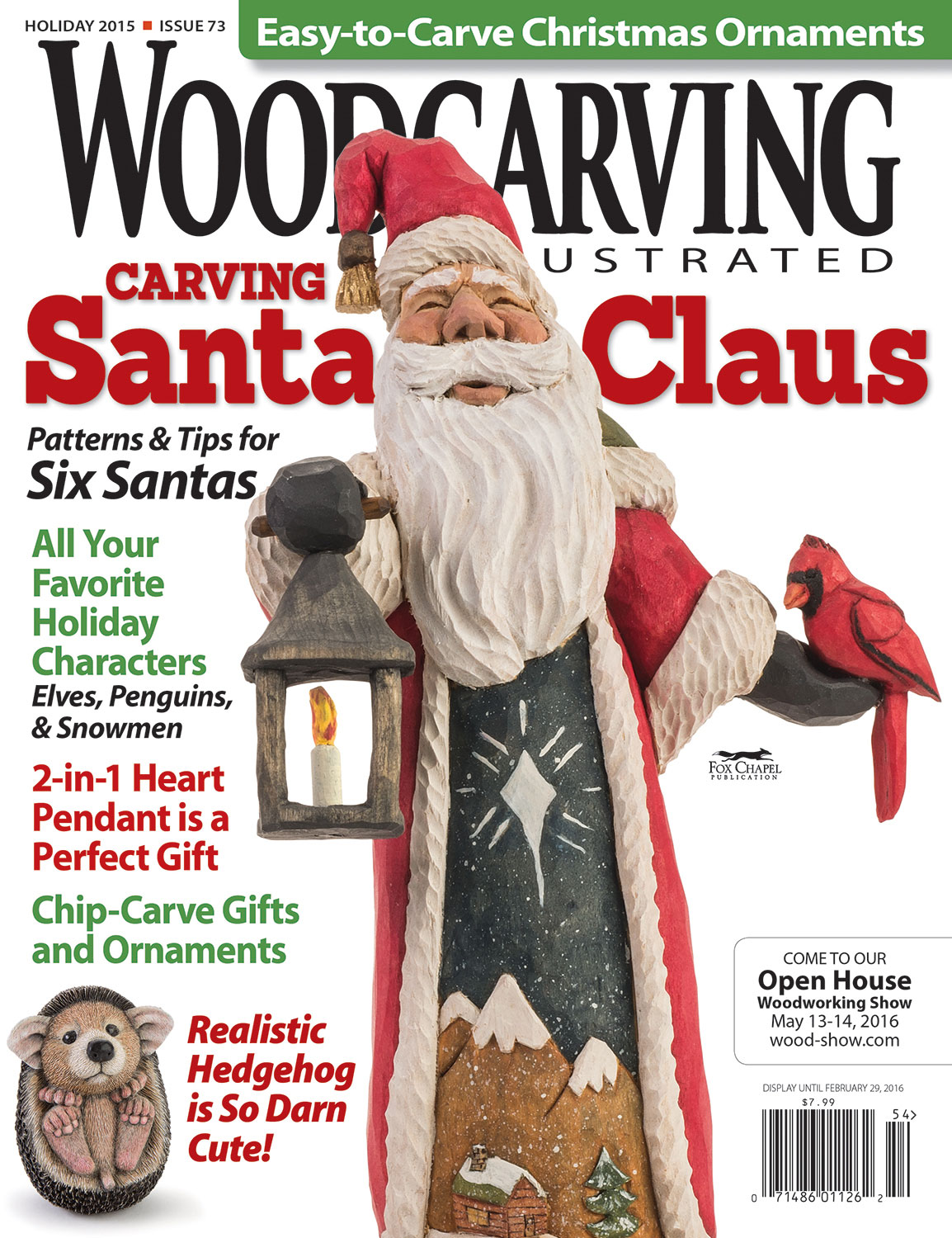 Woodcarving illustrated holiday issue