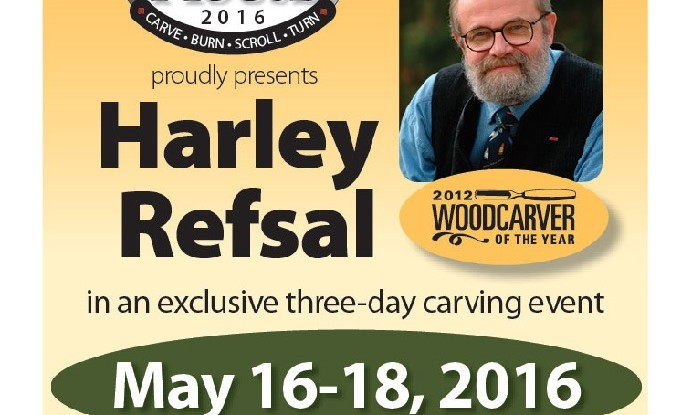 Harley Refsal 2016 Exclusive Three-Day Carving Event