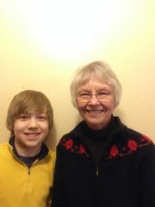 Kade Borson and Nancy Borson