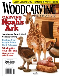 Woodcarving Illustrated Winter / Spring 2016 (Issue 74)