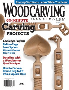 Woodcarving Illustrated Summer 2016 Issue 75