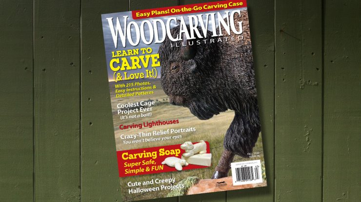 Woodcarving Illustrated Fall 2016 Issue 76
