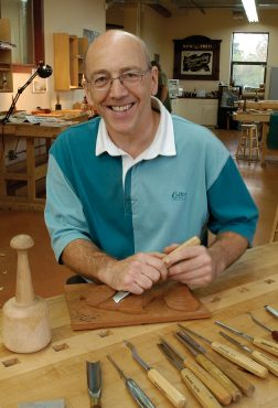 Chris Pye is the 2008 Woodcarver of the Year