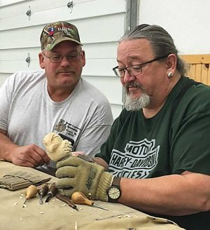 Floyd Rhadigan is the 2016 Woodcarver of the Year