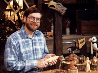 Rick Bütz is the 2004 Woodcarver of the Year