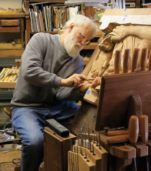 Fred Cogelow is the 2013 Woodcarver of the Year