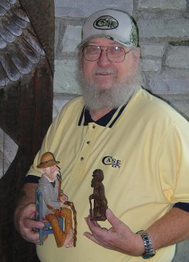 Tom Wolfe is the 2010 Woodcarver of the Year
