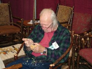 John Burke is the 2009 Woodcarver of the Year