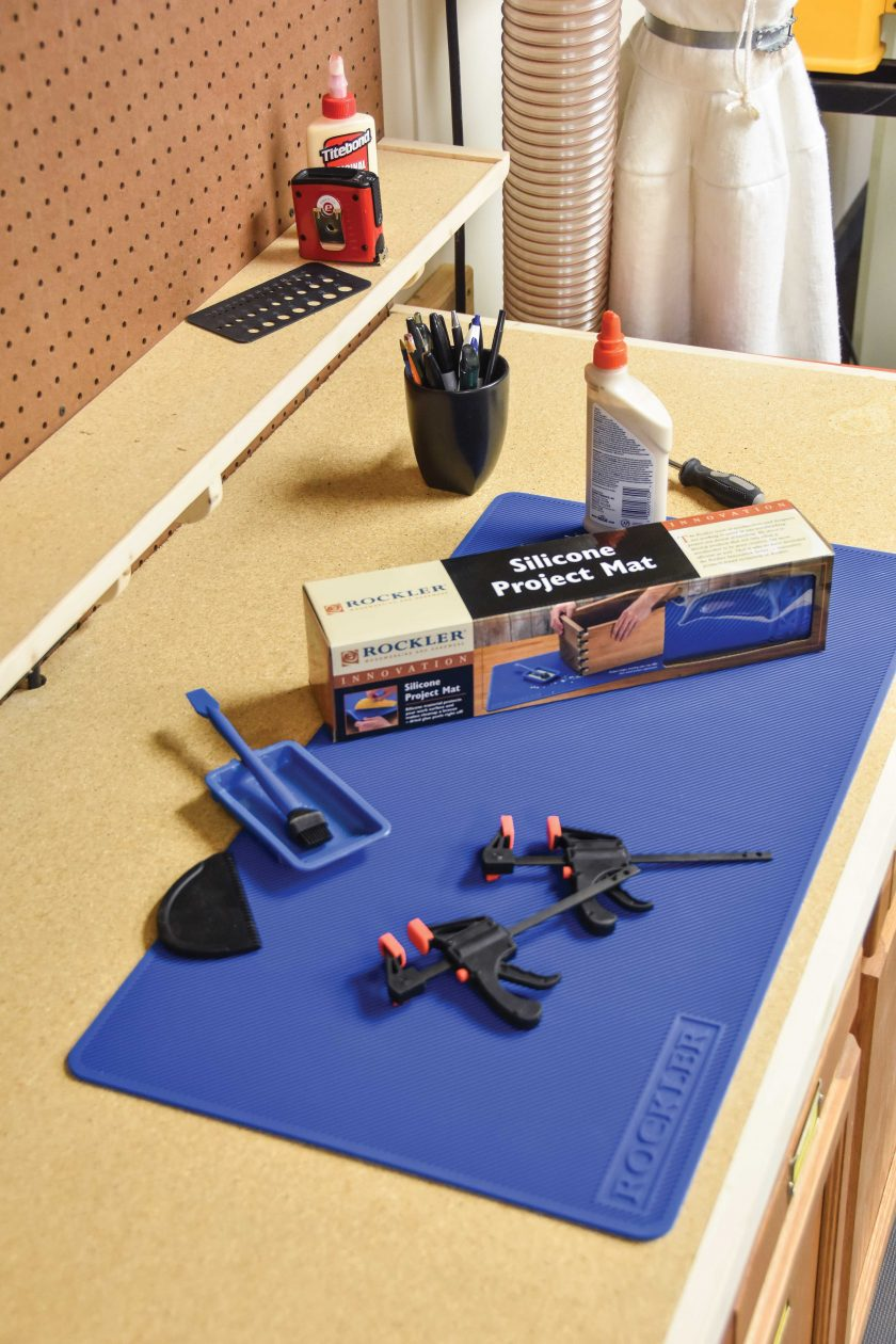 Rockler's Silicone Project Mat
