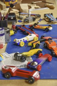 A Funny Thing Happened on the Way to the Pinewood Derby