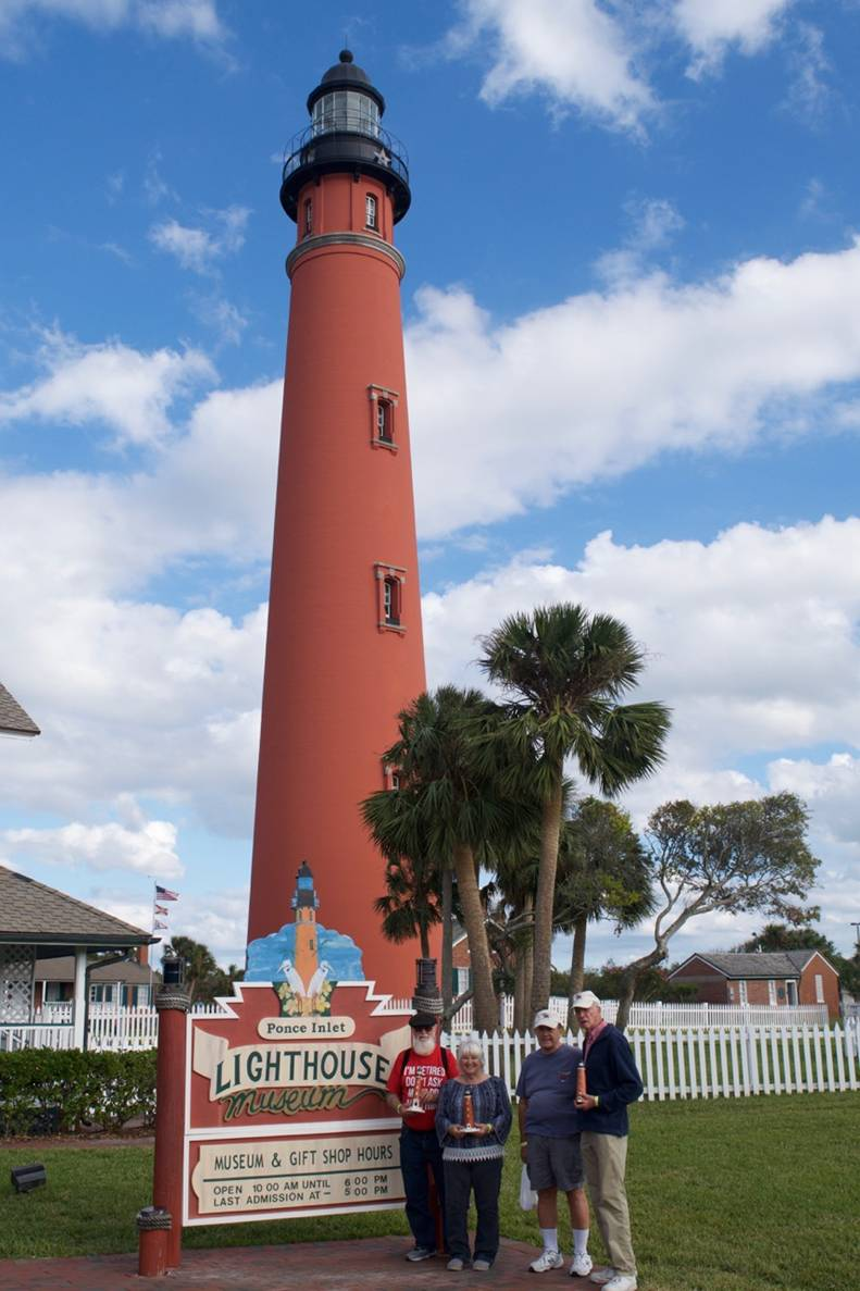 Ponce Lighthouse Wood Carvers
