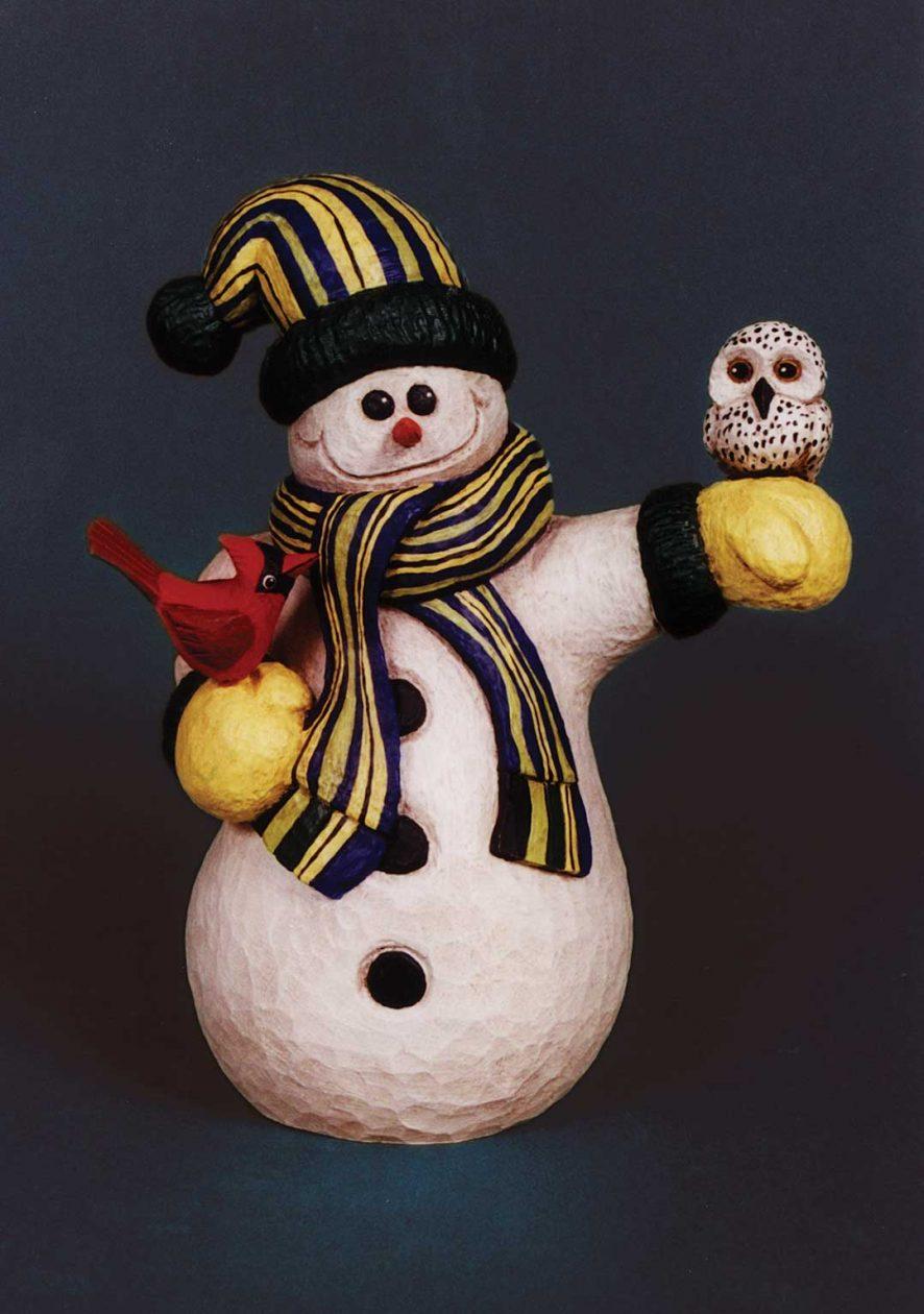 Perky Snowman