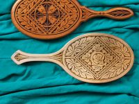 Chip-Carve an Heirloom Hand Mirror