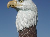 Realistic Eagle Bust