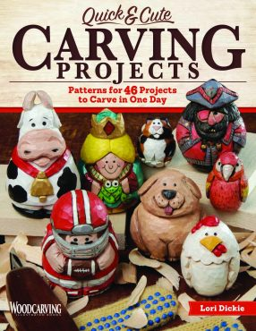 Quick Cute Carving Projects Woodcarving Illustrated