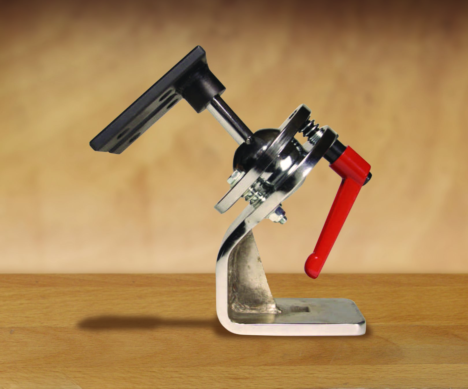 An adjustable holding device by Jerry-Rig that pivots and locks.