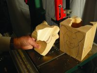 Sawing Carving Blanks