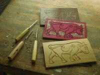 Line Carving: Three Simple Styles