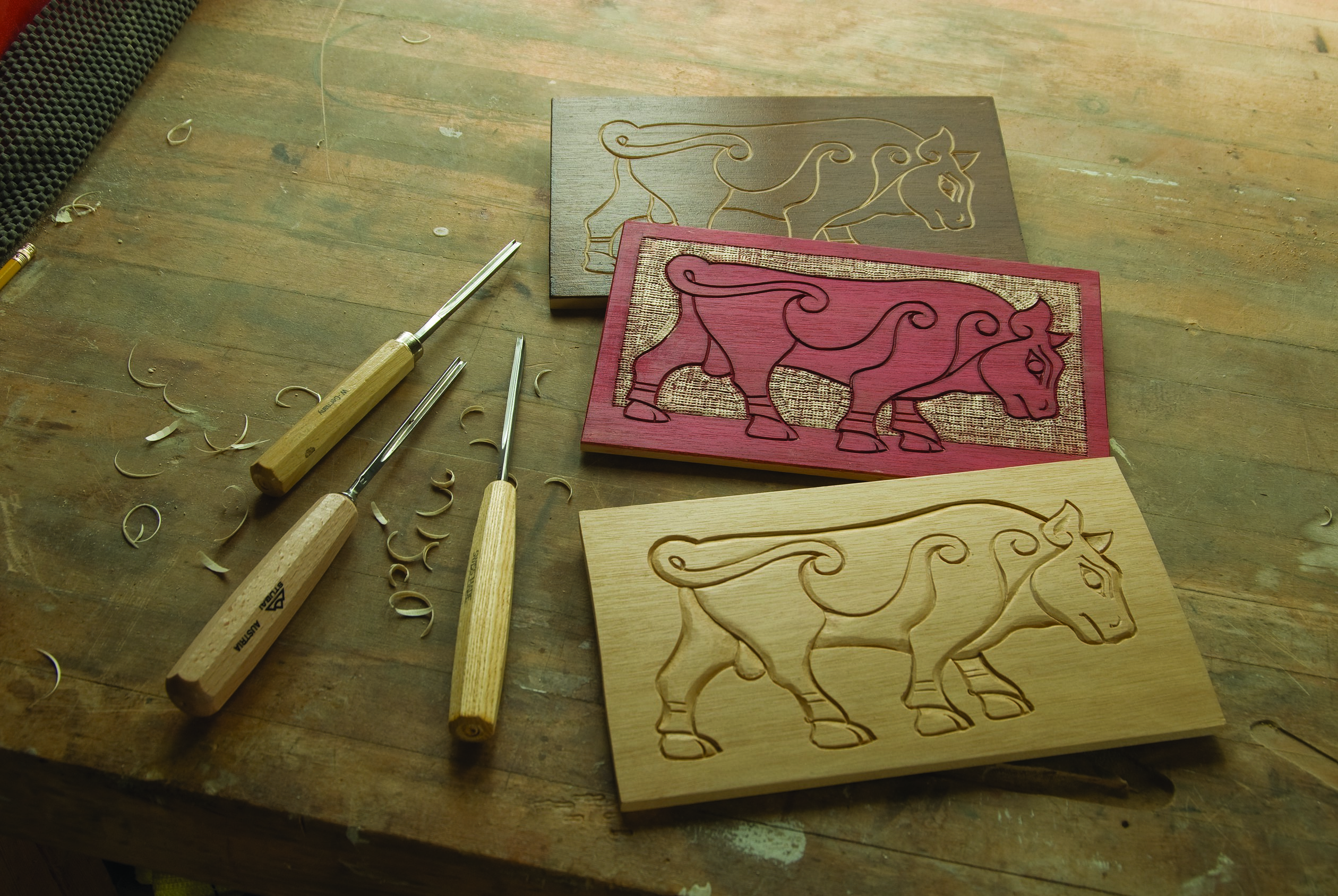 Clean joint lines for relief carvers woodcarving illustrated