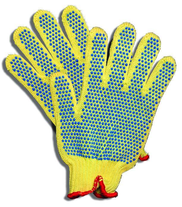 skylar johnson kevlar glove with rubber gripping dots