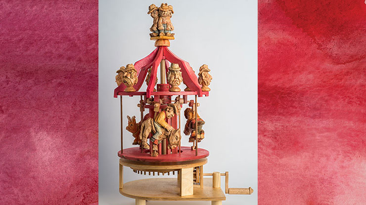 Hand-Cranked Carousel