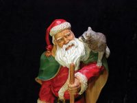 Realistic Santa Carvings