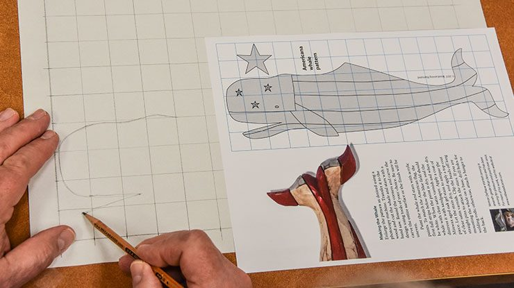 Using A Grid To Enlarge A Pattern Woodcarving Illustrated Enchanting How To Enlarge A Pattern