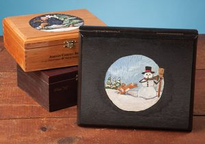 create a oneofakind gift by upcycling wooden cigar boxes