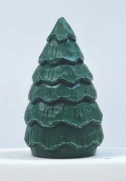 Transform A Basswood Egg Into A Simple Tree Just In Time For Christmas