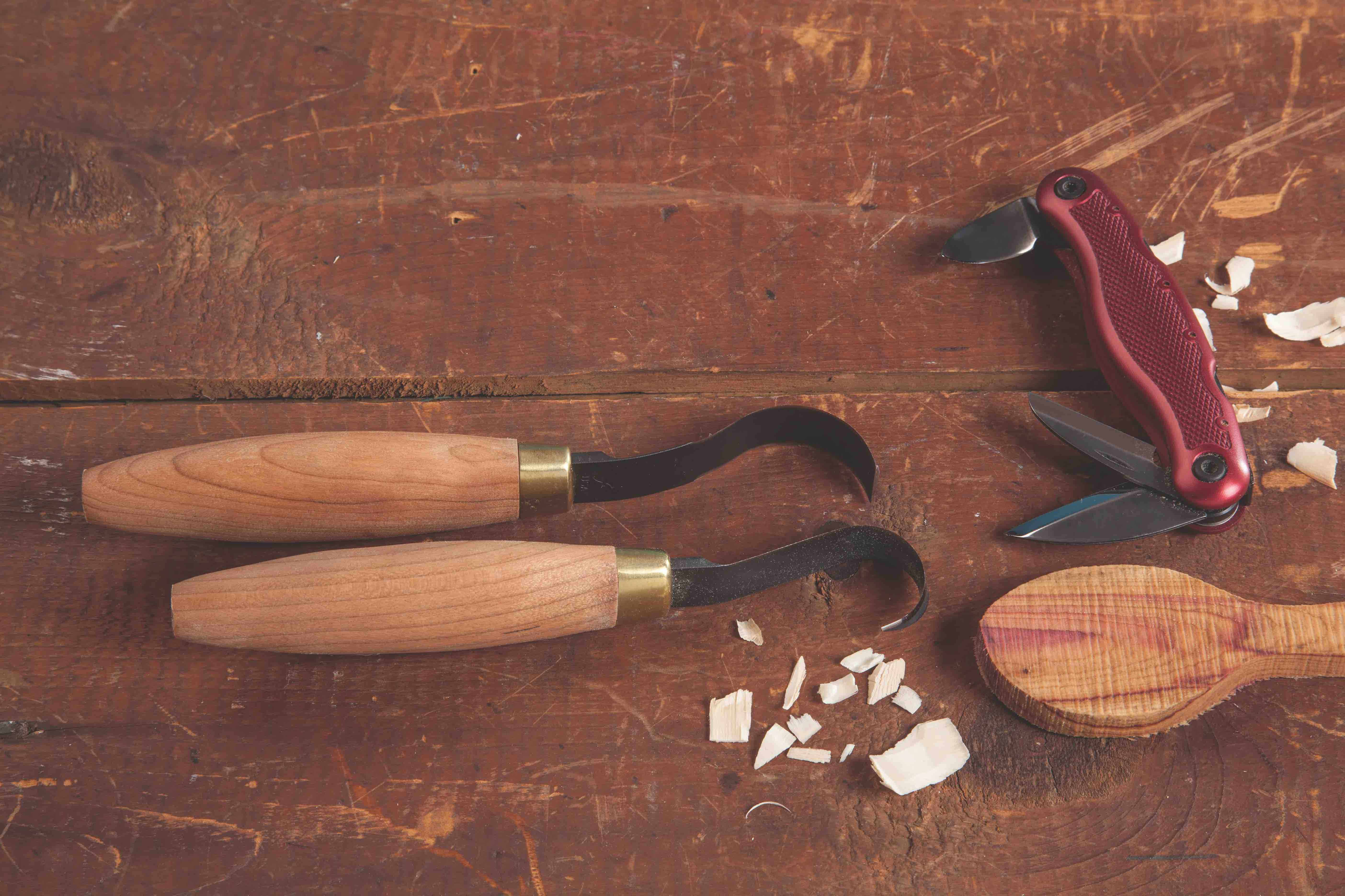 wood carving tools HANDMADE spoon carving tools Lithuania Gilles