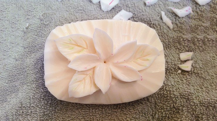 Carving a Soap Flower