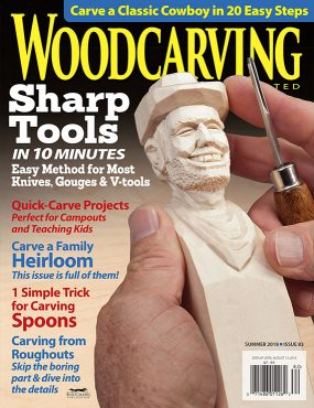 Woodcarving Illustrated Summer 2018 Issue 83 Woodcarving Illustrated