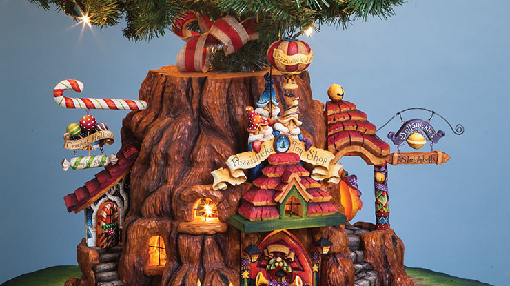 Betty Padden's Carved Christmas Spectacular