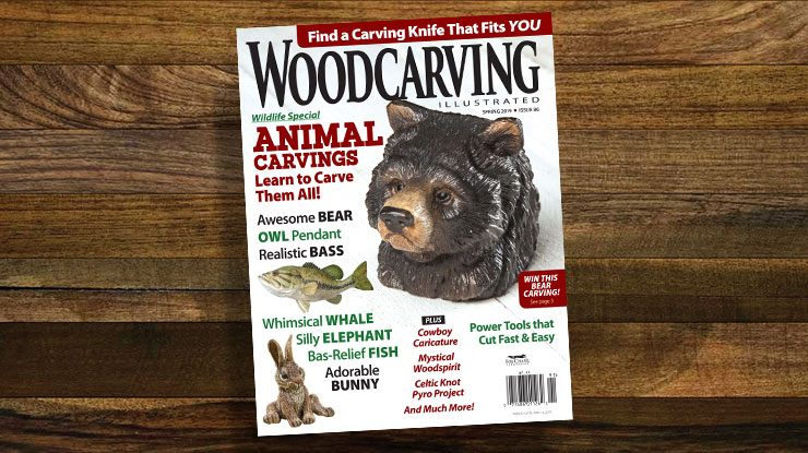 Woodcarving Illustrated Spring 2019, Issue 86