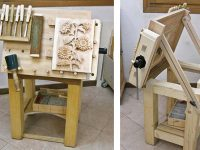 Custom-Build a Tilting Carving Table