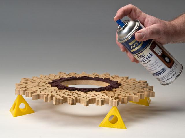 Protecting Woodburned Work