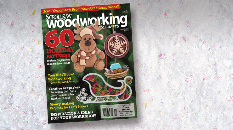 Scroll Saw Woodworking & Crafts Holiday 2015: Issue 61