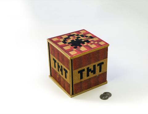 Pixelcraft Exploding Prank Bank