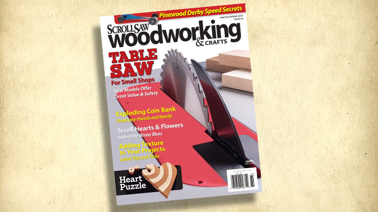 Scroll Saw Woodworking & Crafts Winter/Spring 2016: Issue 62
