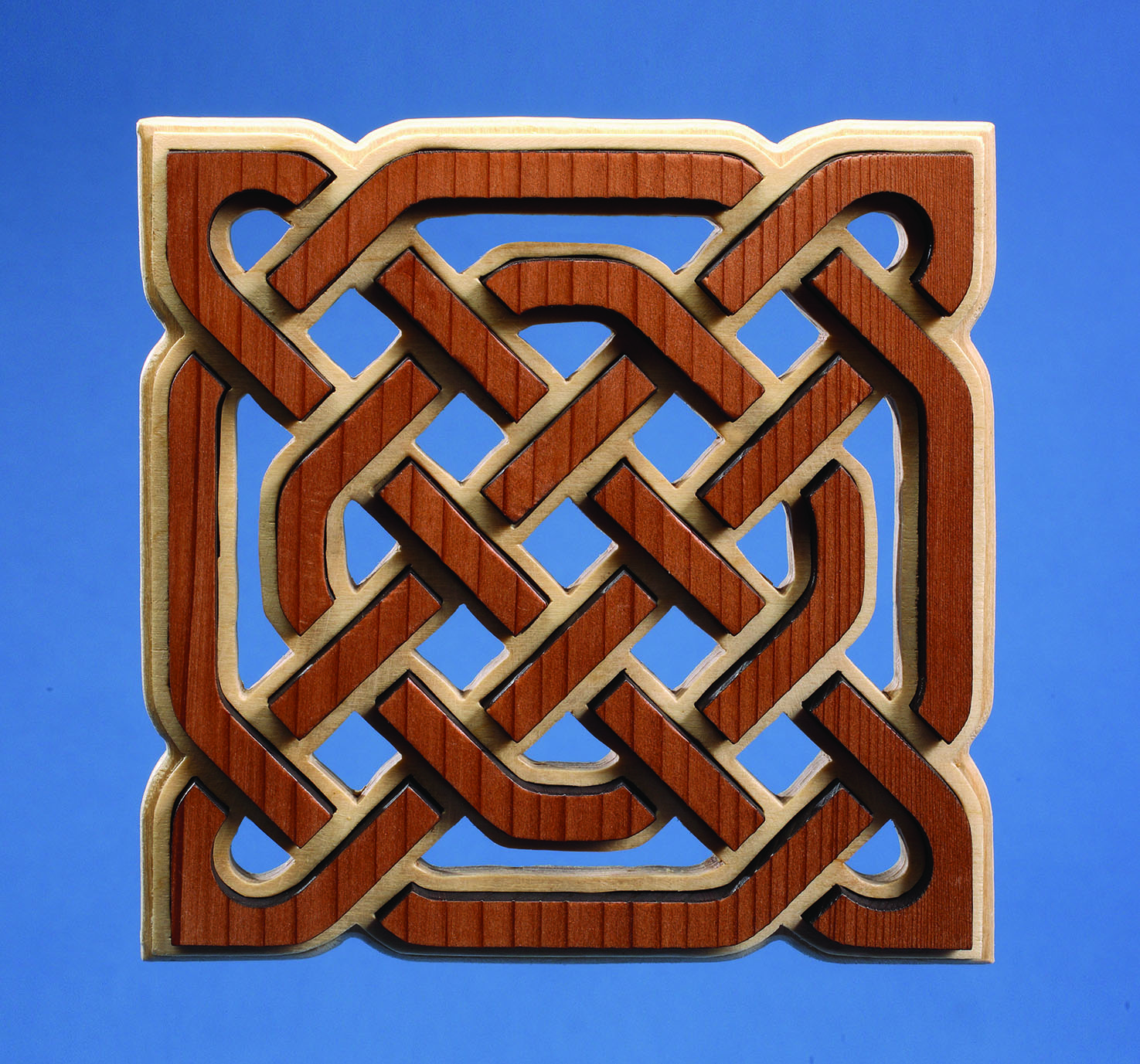 Celtic Knotwork Trivet