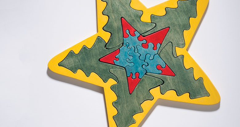 Star Puzzle Pattern