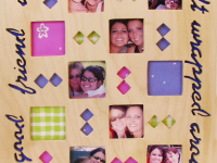 Friendship Quilt Picture Frame